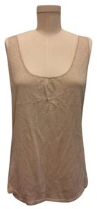 Mango Top Gold beige