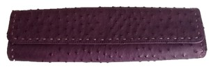 Carlos Falchi Purple Clutch