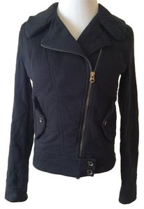 A|X Armani Exchange Cotton Motorcycle Jacket