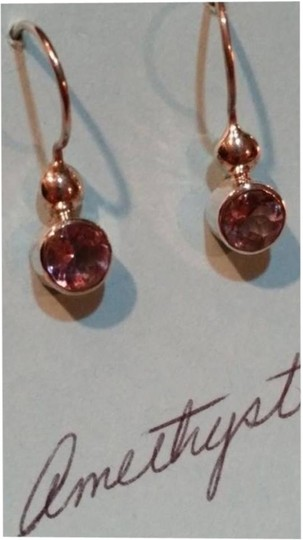 Other NEW Sterling Silver Amethyst Earrings