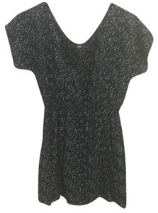 Xhilaration short dress Black/Teal on Tradesy