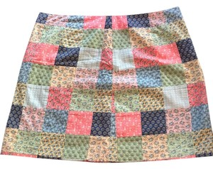 Vineyard Vines Skirt Pink, yellow, navy, green, white