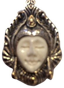 Bali Bali Couture Quan Yin Enhancer/pin In Sterling Silver