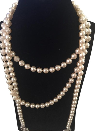 Preload https://item5.tradesy.com/images/chanel-ivory-pearl-lariat-4946959-0-4.jpg?width=440&height=440