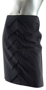 Luca Luca Beaded Skirt Black