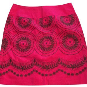 Liz Claiborne Skirt Pink and black