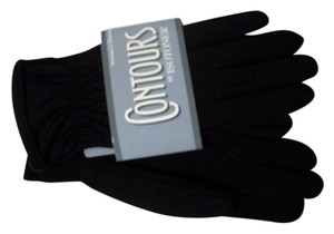 Isotoner Isotoner Contours Water Repellant Black Gloves One Size Fits All