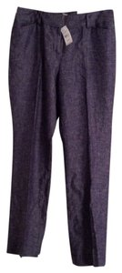 Ann Taylor LOFT Trouser Pants Blue