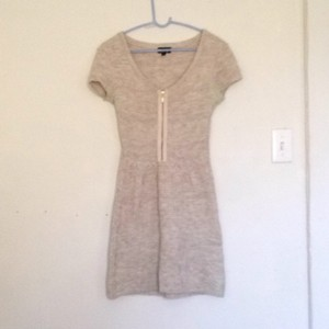 Topshop short dress Cream on Tradesy