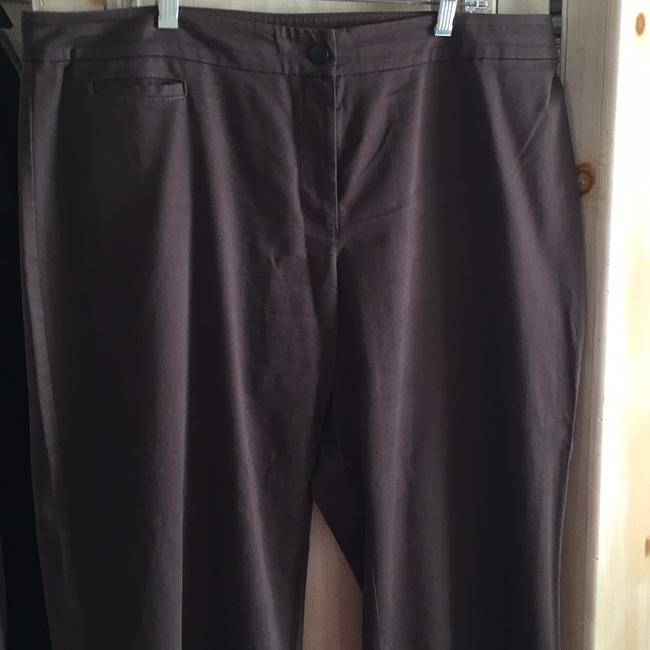 Eileen Fisher Straight Pants Brown