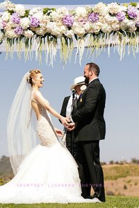 Premium Silk Floral Wedding Canopy/chuppah Arrangement