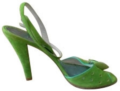 Marc Jacobs Green Pumps