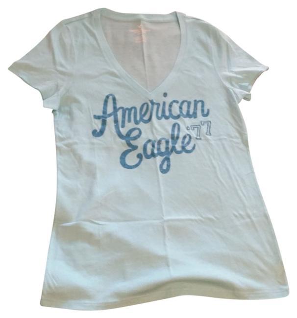 American Eagle Outfitters T Shirt Light Blue
