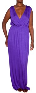 purple Maxi Dress by Trina Turk Maxi Long Jersey