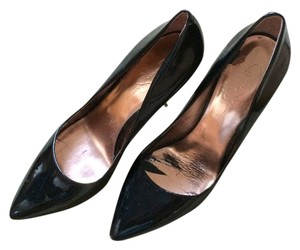 Jessica Simpson Patent Leather Black Pumps
