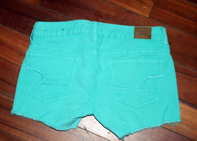 American Eagle Outfitters Cut Off Shorts Teal