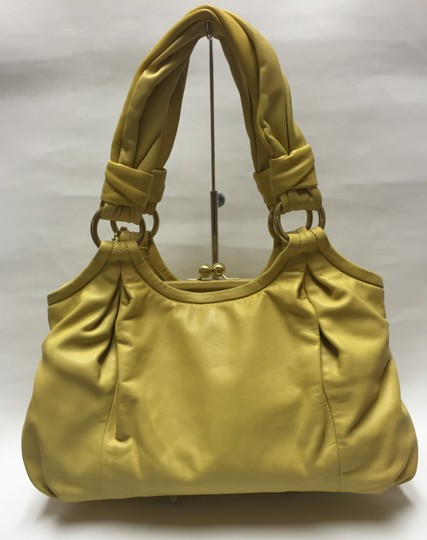 Coach Handbag Satchel in Yellow Image 2