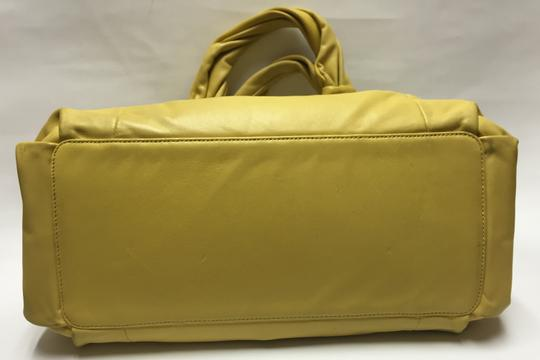Coach Handbag Satchel in Yellow Image 8