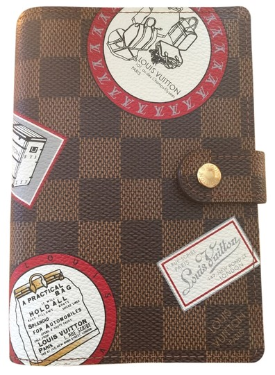 Preload https://item3.tradesy.com/images/louis-vuitton-brown-exterior-red-interior-damier-ebene-patch-pm-agenda-wallet-4948627-0-1.jpg?width=440&height=440