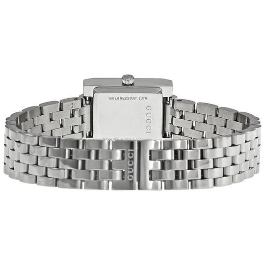 Gucci Mother of Pearl and Diamonds Silver Tone Ladies Designer Watch