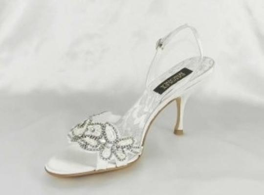 Badgley Mischka White Naomi-ii M1027b Formal Size US 7