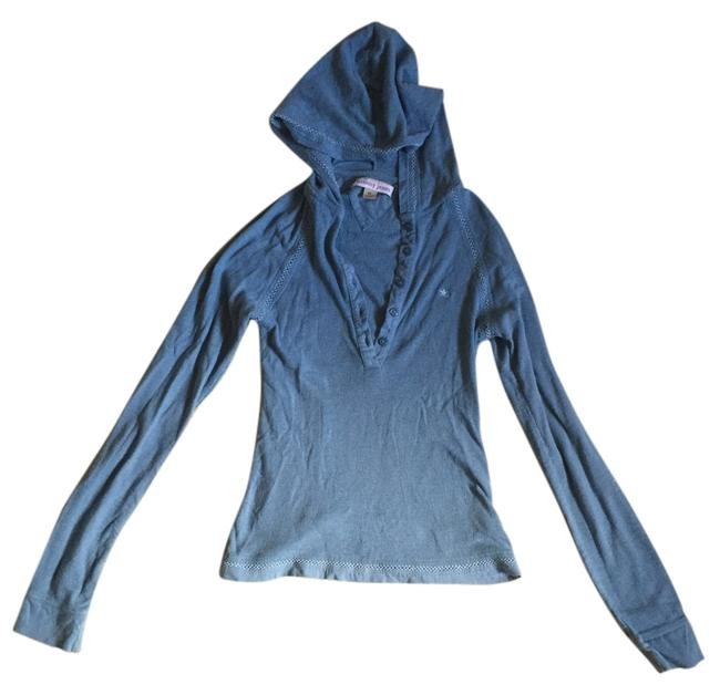 Preload https://item1.tradesy.com/images/blue-tommy-jeans-two-button-shirt-with-hood-sweatshirthoodie-size-0-xs-4949110-0-0.jpg?width=400&height=650