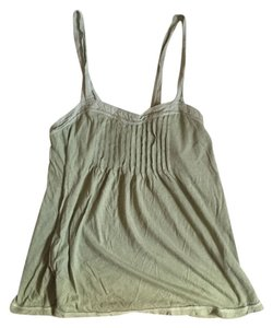 Abercrombie & Fitch Pleated Preppy Summer Top Green