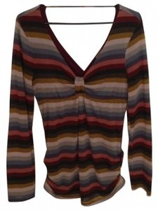 Ella Moss T Shirt Multi-colored stripes