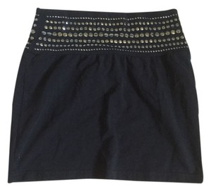 Express Fashionable Trendy Cute Mini Skirt Black