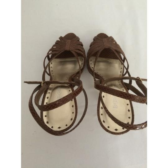 BCBGeneration Brown Platforms