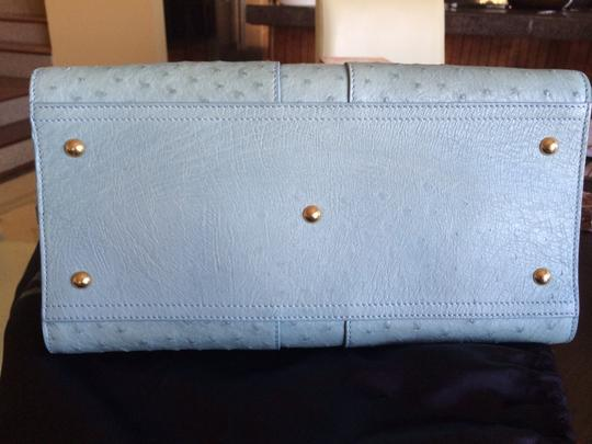 Saint Laurent Satchel in Sky blue