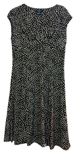 Preload https://item3.tradesy.com/images/chaps-black-with-white-polka-dots-knee-length-short-casual-dress-size-12-l-4951042-0-0.jpg?width=400&height=650