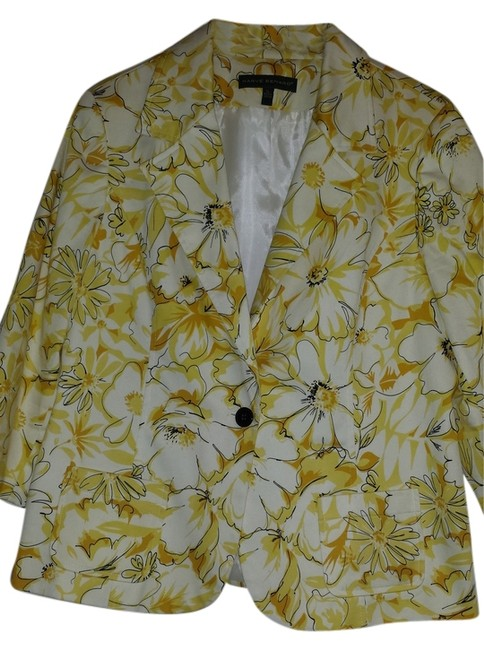 Harvé Benard Yellow Blazer