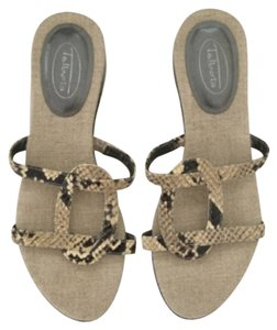 Talbots Neutral Beige Sandals