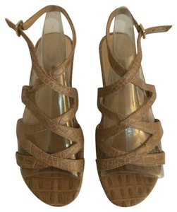 Talbots Neutral tan beige Sandals