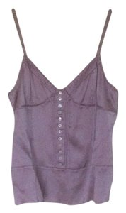 Marc Jacobs Satin Silk Top Purple