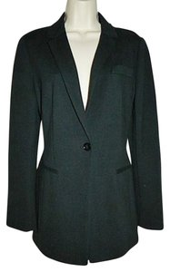 Express New Size Medium Stretch Knit Blend Career Multi-season Black Blazer