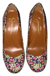 Jessica Simpson Multicolor Pumps