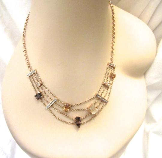 Other Gold Plated Sterling Silver Semi-Precious Citrine Modernist Necklace Image 7