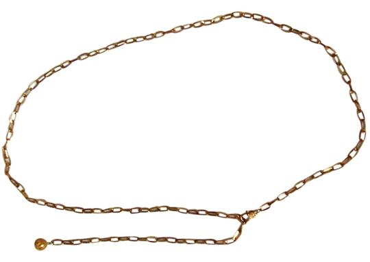 """Other Gold jeweled chain-link belt will fit up to 50"""" waist"""