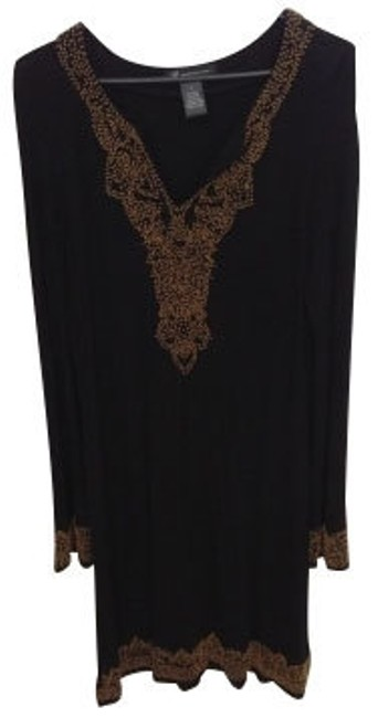 Preload https://item4.tradesy.com/images/inc-international-concepts-black-gold-bead-embellishments-above-knee-short-casual-dress-size-12-l-4953-0-0.jpg?width=400&height=650