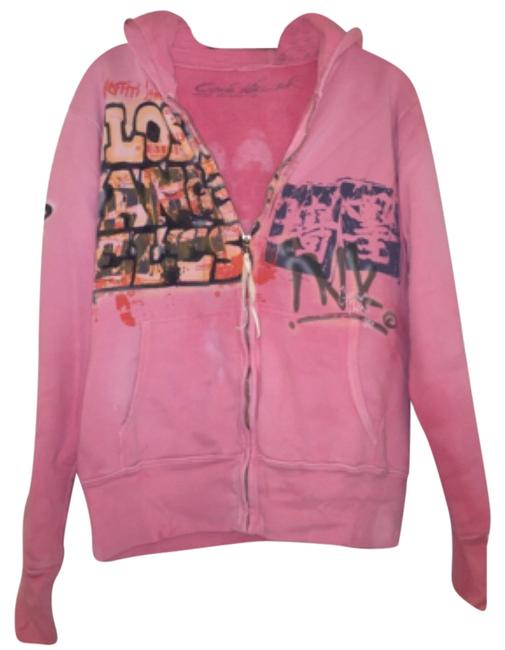 Preload https://item5.tradesy.com/images/the-great-china-wall-washed-pink-with-graffiti-print-los-angeles-sweatshirthoodie-size-6-s-4953919-0-0.jpg?width=400&height=650