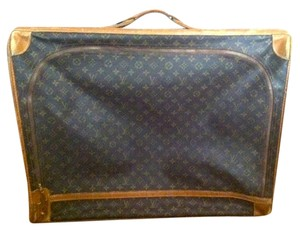Louis Vuitton Vintage Leather Monogram Brown Travel Bag