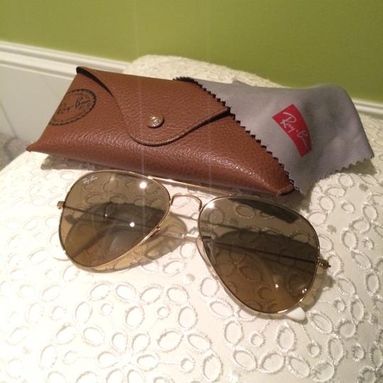 af45122d92 Ray-Ban Arista Crystal Brown Mirror Silver Rb3025 Aviator 55mm ...