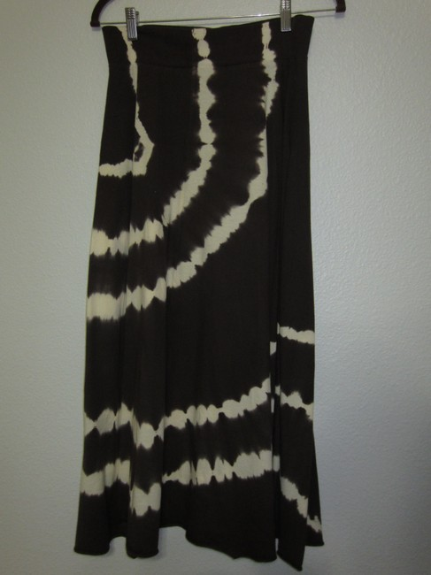Tryst by Mathew Skirt Brown and Cream Image 1