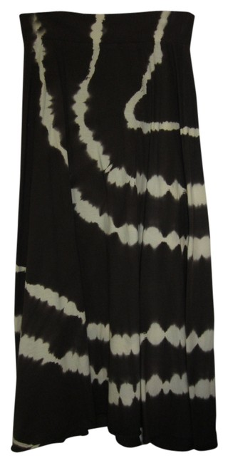Tryst by Mathew Skirt Brown and Cream