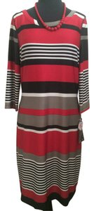 Robbie Bee Striped 2-way Dress