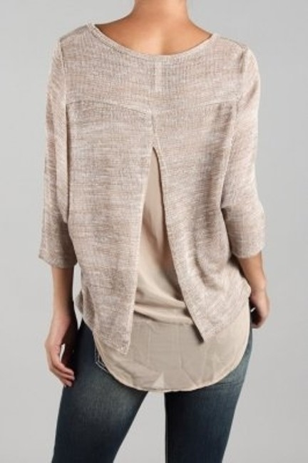 Ginger G Top Taupe