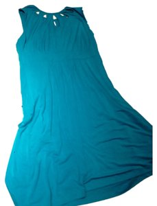 Teal, Turquois, blue Maxi Dress by Rachel Pally