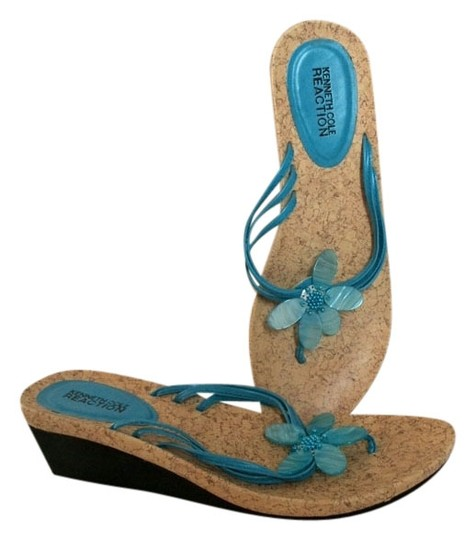 Kenneth Cole 7.5 7.5 Blue Sandals